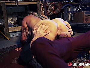 Danny D uses his sausage to bait a succubus